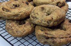 Whole Grain Cinnamon Raisin Bagels: HBinFive