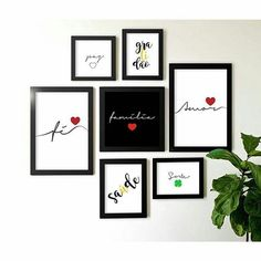 Bedroom Decor, Wall Decor, Wall Art Sets, Do It Yourself Home, Inspired Homes, Frames On Wall, Decoration, Diy Design, Diy And Crafts
