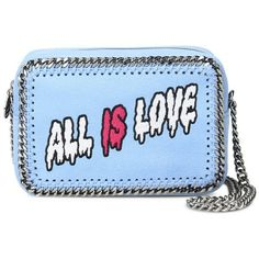Stella Mccartney All Is Love Sport Surf Clutch (1,775 PEN) ❤ liked on Polyvore featuring bags, handbags, clutches, borse, blue, blue purse, leather cross body purse, leather crossbody purse, leather handbags and blue crossbody