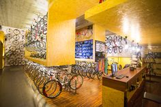 Cycling store in Poland. More