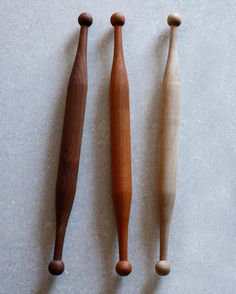 Anonymous; Wooden Rolling Pins by Lostine.