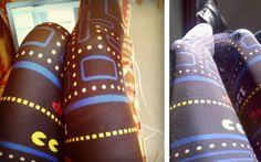 Pac-Man Leggings: Geeky
