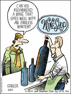 Can you recommend a Wine that goes well with an Endless Winter?
