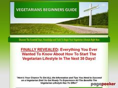 Vegetarian's Beginner's Guide – How To Become A Vegetarian 30 Day Course - http://positivelifemagazine.com/vegetarians-beginners-guide-how-to-become-a-vegetarian-30-day-course-2/ http://pagepeeker.com/t/l/www.vegetariansbeginnersguide.com%2f  Vegetarian's Beginner's Guide – How To Become A Vegetarian 30 Day Course     ***Get your free domain and free site builder***  Interested? Click here to learn more!    Please follow and like us:  var addthis_config
