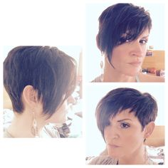 Hair extensions for short hair. Easy to make.