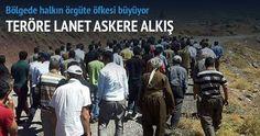 Şırnak'ta vatandaşların, uzman çavuş ve ailesini PKK'lıların elinden almasının ardından Hakkâri'nin Şemdinli ilçesinde de halk köprüleri havaya uçuran PKK'ya tepki gösterdi. Köylüler PKK'ya lanet okurken askere sevgi gösterisinde bulundu