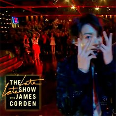 180612 #JUNGKOOK // James Corden Late Late Show