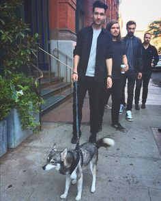 Dan Smith with a darling dog