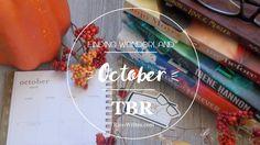 October TBR! | Finding Wonderland