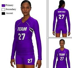 Teamwork Custom Volleyball Uniform (Ace)