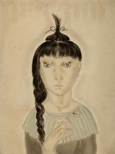 blanc blanc blanc: Léonard Tsuguharu Foujita (1929)