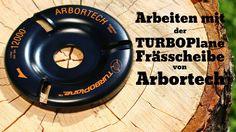 """Arbortech TurboPlane Frässcheibe für grobes und feines schnitzen """"Lange ..."""