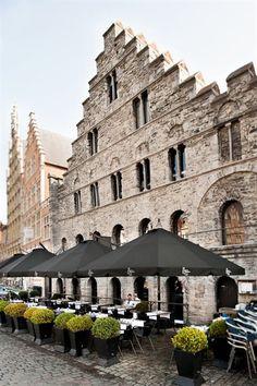 Belga Queen Restaurant, Ghent, Belgium France Travel, Italy Travel, Thailand Travel, South America Travel, Bruges, Canada Travel, Luxembourg, Australia Travel, Patio