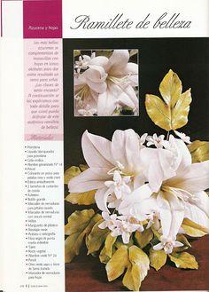 Todo Flores de Porcelana Fria: Azucena Paso a Paso