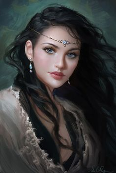 Love the eyes :) Princess Lauralye by Selenada on deviantART. I want her to do my cover art for my Fantasy Trilogy. Fantasy Girl, Fantasy Magic, Chica Fantasy, Fantasy Women, Fantasy Princess, Elven Princess, Princess Beauty, Moon Princess, Princess Anna