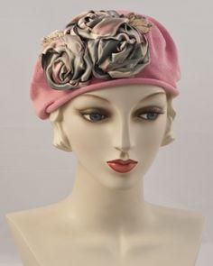 0999SBC Small Beret Cotton, rose                              …