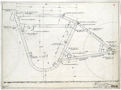 Original Patent Drawings For Vintage Board Track Racers - Motorized Bicycle Engine Kit Forum Vintage Bikes, Vintage Motorcycles, Custom Motorcycles, Custom Bikes, Motorcycle Design, Motorcycle Bike, Bike Design, Bicycle Engine Kit, Motorised Bike