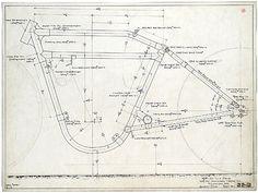 harley boardtracker dimensions