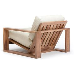 Air Chair - Nook Nook wood chair - wood chair design - wood chair diy - wood chair makeover - wood c Vintage Outdoor Furniture, Pallet Furniture, Furniture Plans, Furniture Design, Luxury Furniture, Vintage Patio, Vintage Linen, Furniture Storage, Rustic Furniture