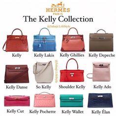 Hermes Kelly Collection  Hermeshandbags Hermes Handbags c0cfed5252f34