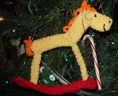 Rocking Horse ornament.