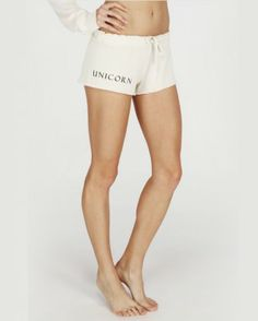NEW #Wildfox #Unicorn Lounge Shorts! Just in at #Birdmotel Australian Online Boutique