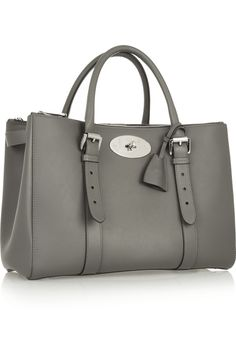 33e229b03be1 Mulberry - The Bayswater Double Zip textured-leather tote