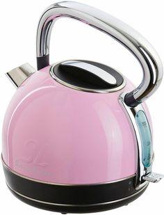Wasserkocher-SMEG-creme-mint-rosa   Wasserkocher   Pinterest ...