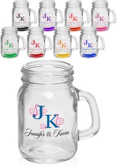Can get a quote put on here or logo created for the celebration- no cheesy initials and colors.  $350 for 204 mugs