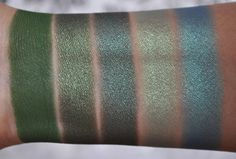 So Lonely in Gorgeous: Inglot Freedom System 20 Eye Shadow Palette #3 Swatches
