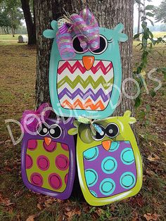 Big Hoot Owl by DoOdLeDotsAnDmOre on Etsy