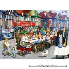 Kevin Walsh.- although this was to celebrate the coronation, street parties were the norm during my childhood.
