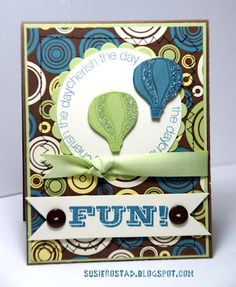 Fabulous card by Susie Rostad!