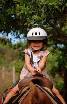 horseback riding in style