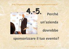 Sponsorizzazione strategica 4-5, by Filippo Maria Cailotto via Slideshare