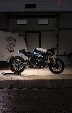 BMW ninet Valvoline edition | HKG - RocketGarage - Cafe Racer Magazine