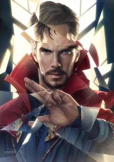 Doctor Strange, yin yuming on ArtStation at https://www.artstation.com/artwork/BOayD
