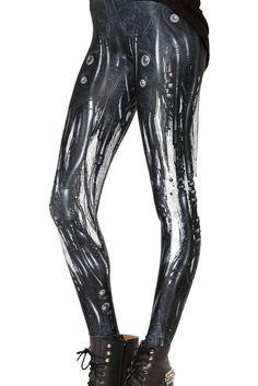 29655a28d7f Women s Black Milk Plus Size Workout Leggings For Women Mechanical Tubing  bubble Printed Sexy fitting Leggings Skinny Pants