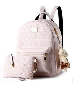 NEW Fashion Designed Women Backpack Leather School Casual Style Backpack   Small Bag