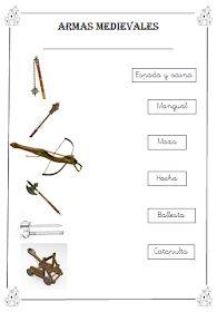 A MÍ ME GUSTA EL COLE: Banderines medievales y más