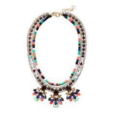 Stone burst necklace #jcrew #jewelry