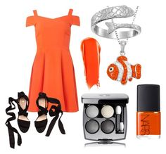 """dress nemo"" by zombiebarbie1333 on Polyvore featuring Dorothy Perkins, Chanel, NARS Cosmetics and Alex and Ani"