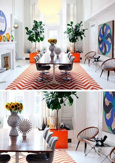 Jonathan Adler - love his designs they're happy hearted and he always includes gold.