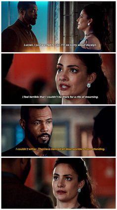 """#Shadowhunters 2x14 """"The Fair Folk"""" - Luke and Maryse"""