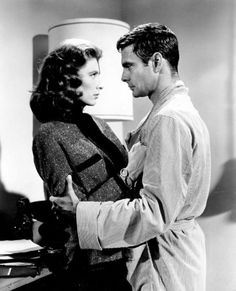 Suzy Parker and Louis Jourdan in The Best of Everything.