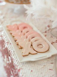 Watercolor Bridal Shower from Liz Banfield | Style Me Pretty