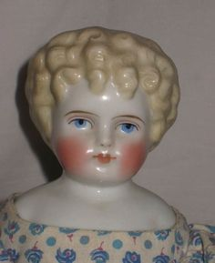 "LTD TOY STAMP & ANTIQUE 14"" ALT, BECK & GOTTSCHALK ABG  BLONDE CHINA HEAD DOLL"