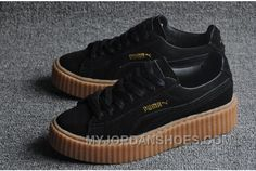 Puma Rihanna Black And Gold shoesz.co.uk
