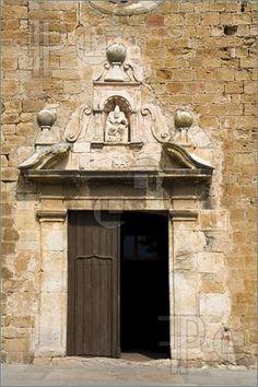 Church In Pals, Catalonia