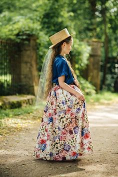 Victorian inspired girls floral dress from Aristocrat Kids for spring 2015